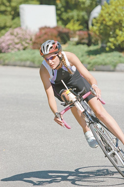 Young, strong and determined, athlete put disease in its place