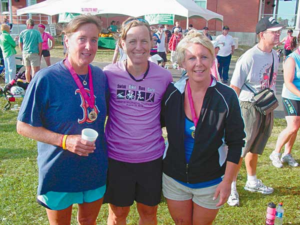 Post-race payoff – the food