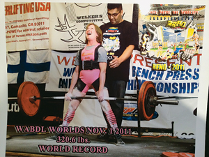 World-class lifter is a powerhouse