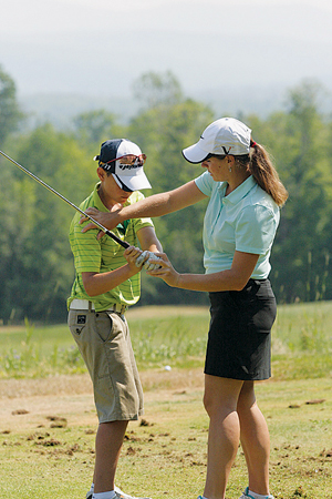 Good time for women in golf