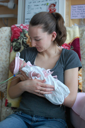 Olivia: A couple's miracle baby