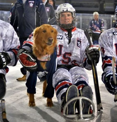 Sled hockey aids brain-injury recovery