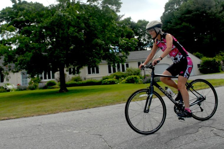 Aiming high at first Tri