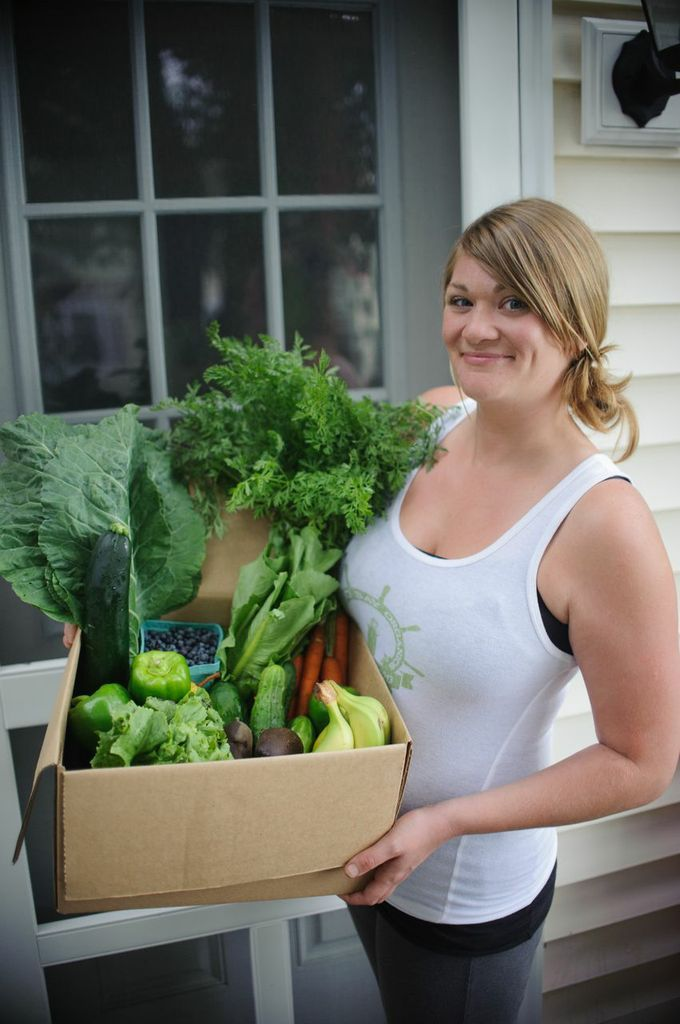 Local organic foods,  from farm to door