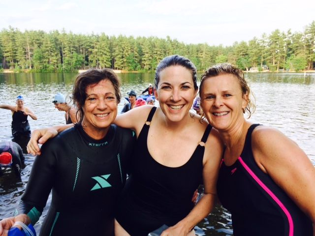 First-timers take on the Tri