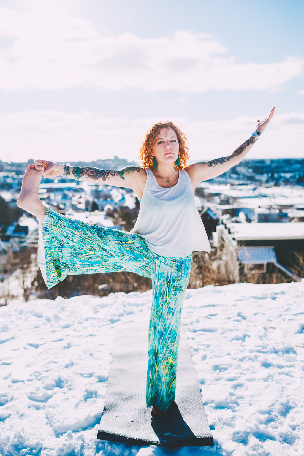 The yoga will get to you, and when it does, you want to share it