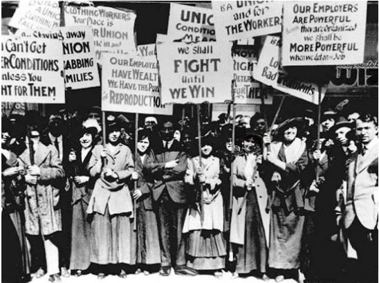 """Finding their Voice: The Factory Women's """"Turn-Out"""" of 1841"""