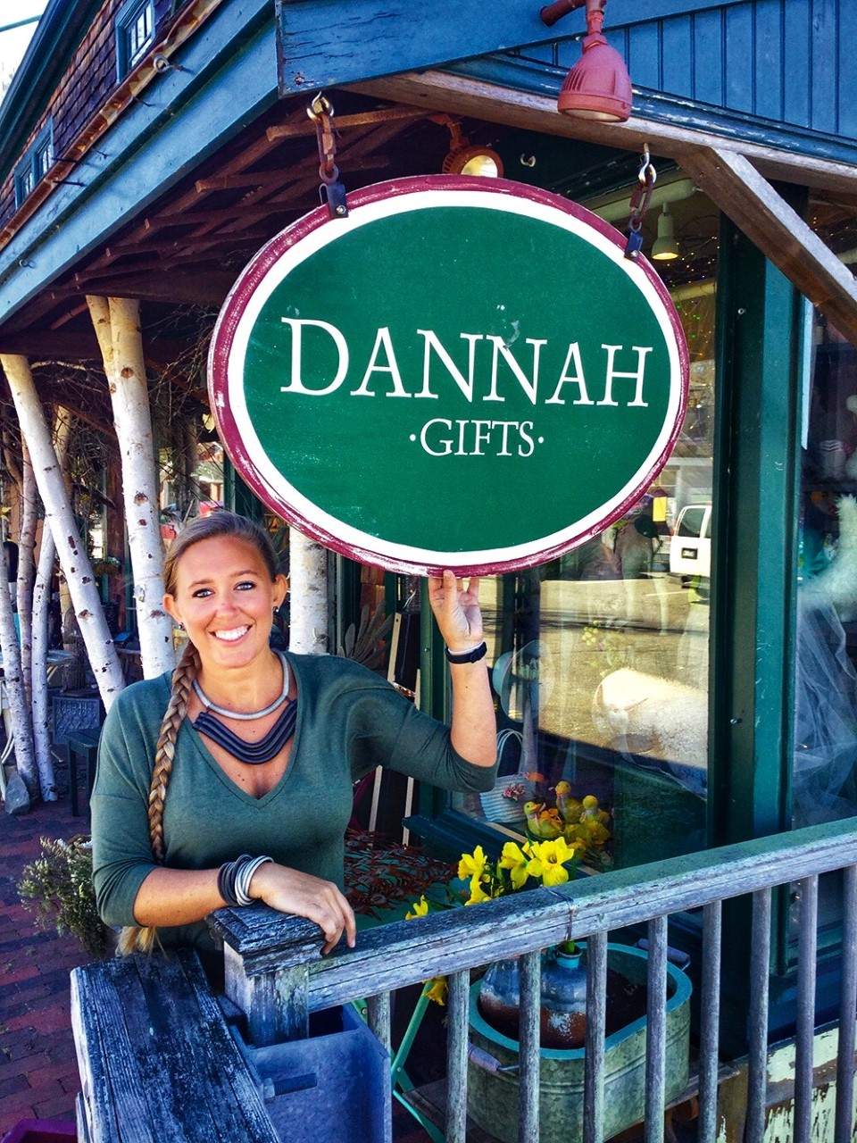 Laura McCullough Speaks of Dannah in Kennebunkport
