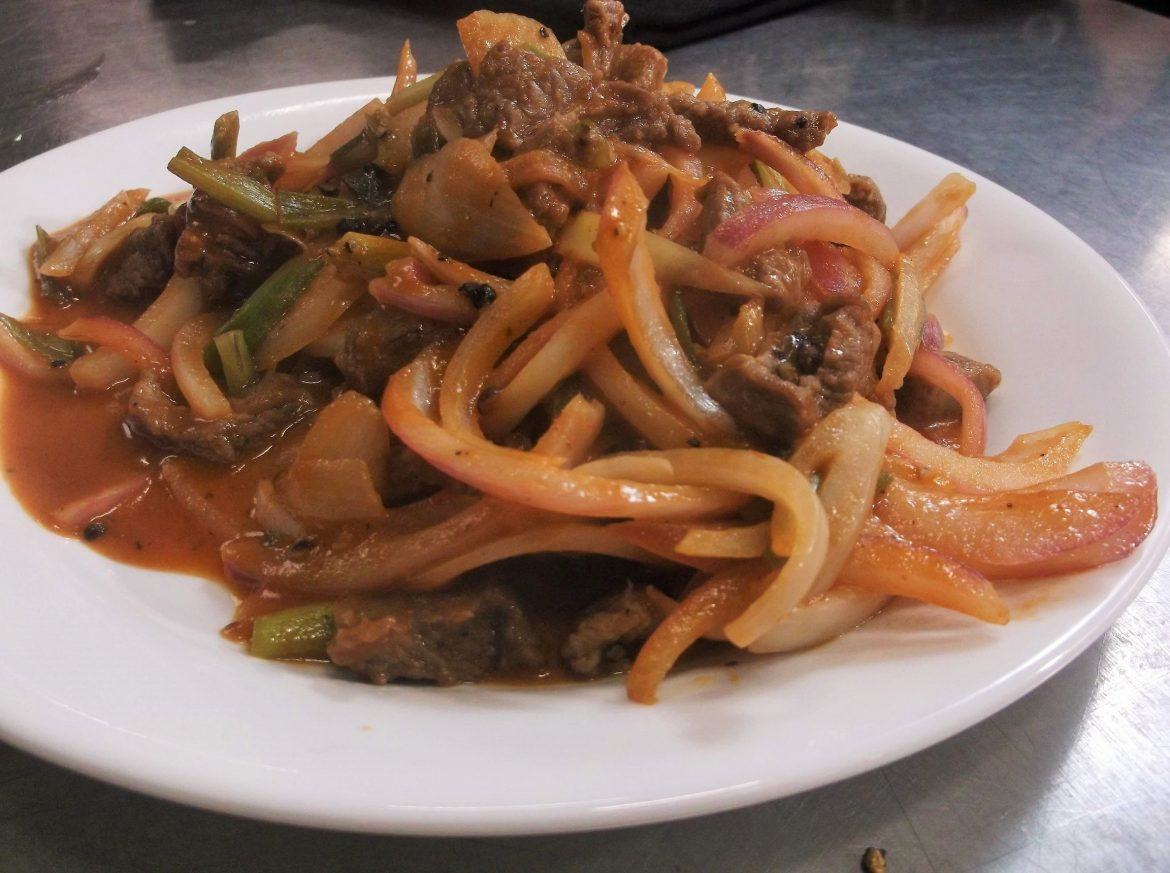 Smothered Beef and Onions