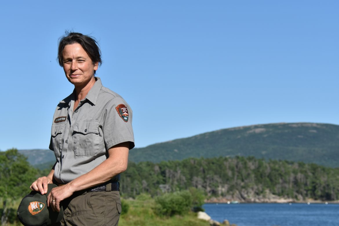 Gail Gladstone of the National Park Service