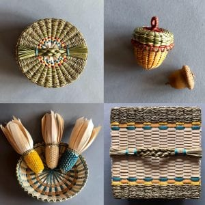 Penobscot Basket Artist Theresa Secord Weaves Tapestry of Tradition and Beauty
